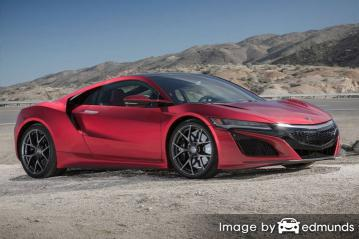 Insurance quote for Acura NSX in Mesa