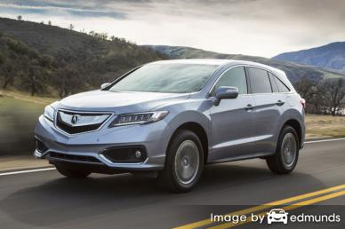 Insurance quote for Acura RDX in Mesa