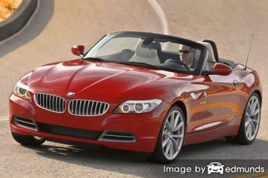 Insurance quote for BMW Z4 in Mesa