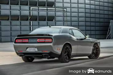 Insurance rates Dodge Challenger in Mesa