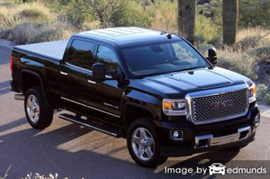 Insurance rates GMC Sierra 2500HD in Mesa