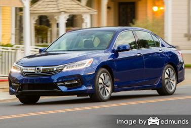 Insurance rates Honda Accord Hybrid in Mesa