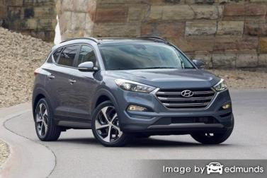 Insurance quote for Hyundai Tucson in Mesa