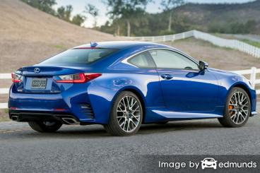 Discount Lexus RC 200t insurance