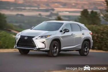 Insurance rates Lexus RX 350 in Mesa