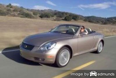 Insurance quote for Lexus SC 430 in Mesa