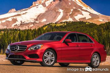 Insurance quote for Mercedes-Benz E350 in Mesa