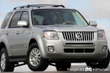 Insurance quote for Mercury Mariner in Mesa
