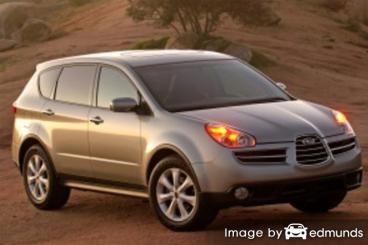 Insurance rates Subaru B9 Tribeca in Mesa