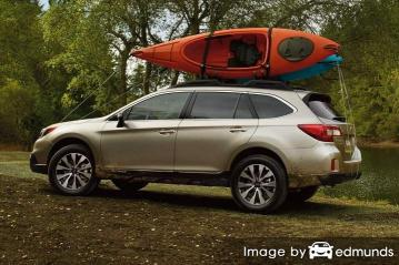 Insurance quote for Subaru Outback in Mesa
