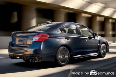 Insurance rates Subaru WRX in Mesa