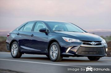 Insurance quote for Toyota Camry Hybrid in Mesa