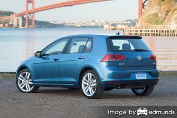 Insurance rates Volkswagen Golf in Mesa